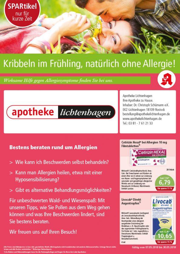 Hilfe gegen Allergiesymtome